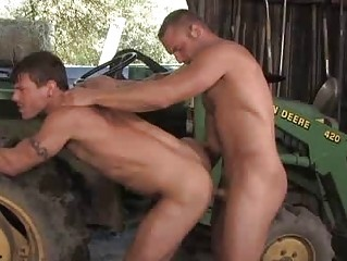 In person Cowboy DILF Fucks A Alluring Farmer