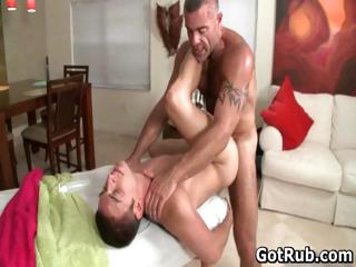 Massage pro in deep anal breaking up gay