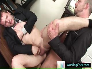 Cameron getting fucked real hard at job interview by workingcock