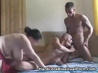 Compilation for threesome hermaphrodite action with fat brunettes and ebony brunettes