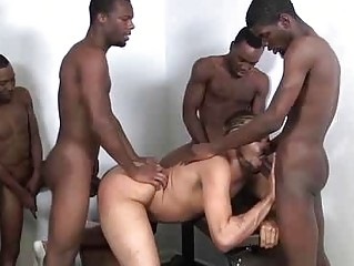 The Exciting Backroom Gangbang Exotic Horny Boys