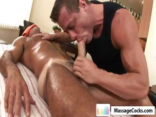 Massagecocks Muscule Latino Rub Kneading