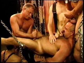 With five gay men doing some kinky sex utilizing chains it is a formula of a to one's liking time