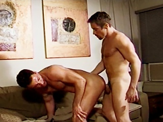 Studs suck each others cocks after shower and then one be fitting of them gets...