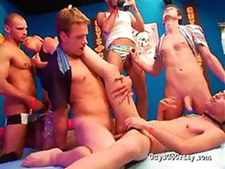 Gay anal sex party