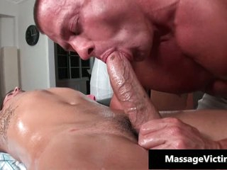 Bryce gets his super hard cock sucked missing