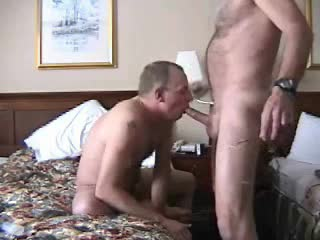Well-pleased hotel blowjob with face fucking