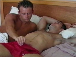 Horny merry hunk wakes up big dick relative to awesome blowjob