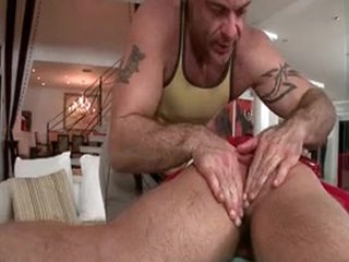 Hunky Guy Gets Anus Rimmed 2 Unconnected with GotRub