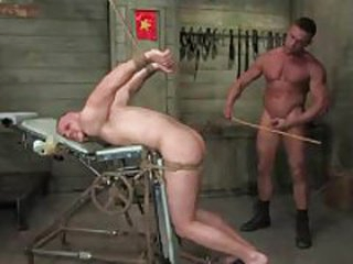 Toff tied up and fucked by another toff