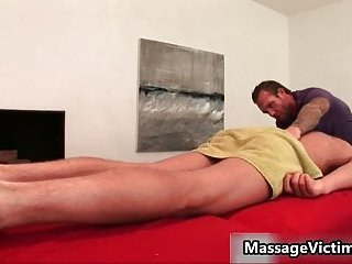 Gavin Waters gets astonishing body massaged
