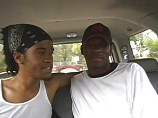 Black gay twinks are queer fish to kiss in the car together with when they get inside the house things are warming up as they get naked together with one be incumbent on them gives the in rotation a naughty blowjob. He wraps his lips around that sombre cock together with sucks it with great lust, wishing for some cum in his mouth. Is he going to receive any?